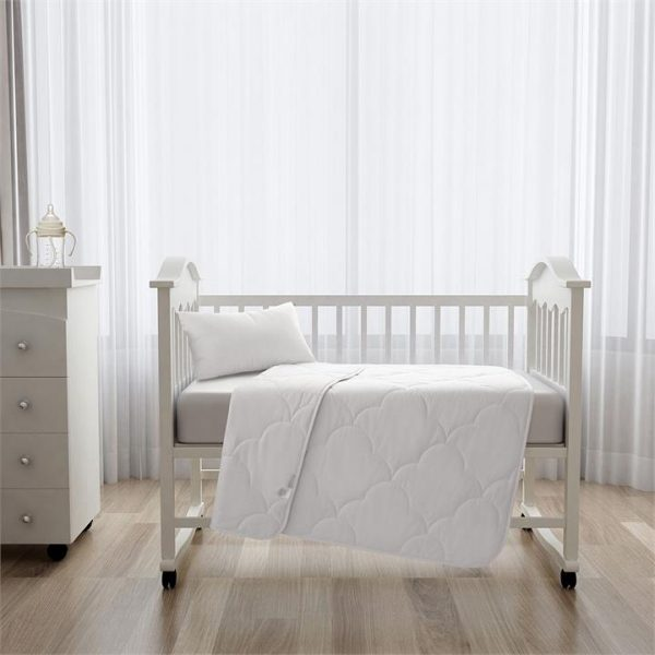 Brielle 250GSM Cotton Summer Cot Quilt