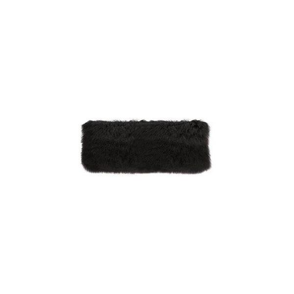 Byrde Tibetan Fur Lumbar Cushion