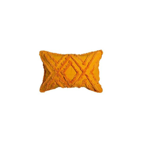 Byron Breakfast Cushion, Mustard