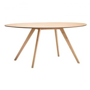 Carol Wooden Oval Dining Table