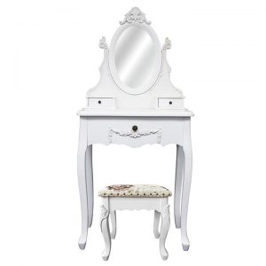 Carville Dressing Table with Carville Dressing Stool