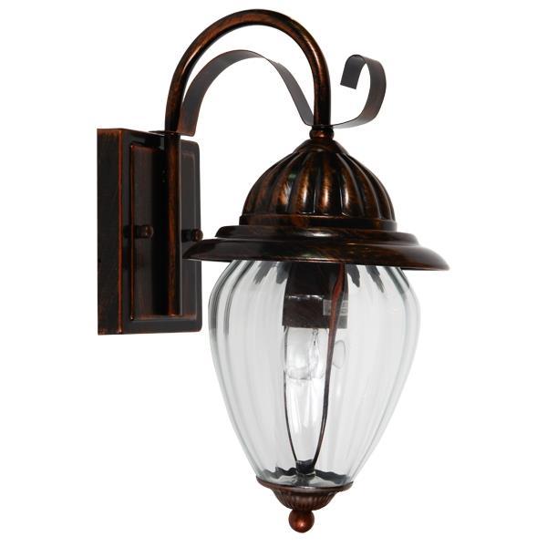 Cheap Devon Copper Bronze Wall Lights IP44 Outdoor Lighting...