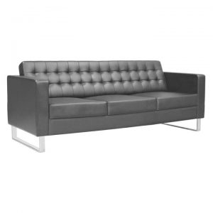 Chester PU Leather Sofa, 3 Seater
