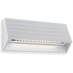 Civita IP54 LED Indoor/Outdoor Step / Wall Light, White