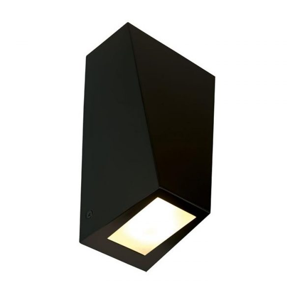 Conley IP44 Outdoor Up / Down Wall Light, Black