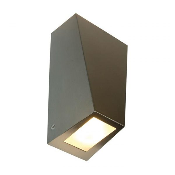 Conley IP44 Outdoor Up / Down Wall Light, Stainless Steel