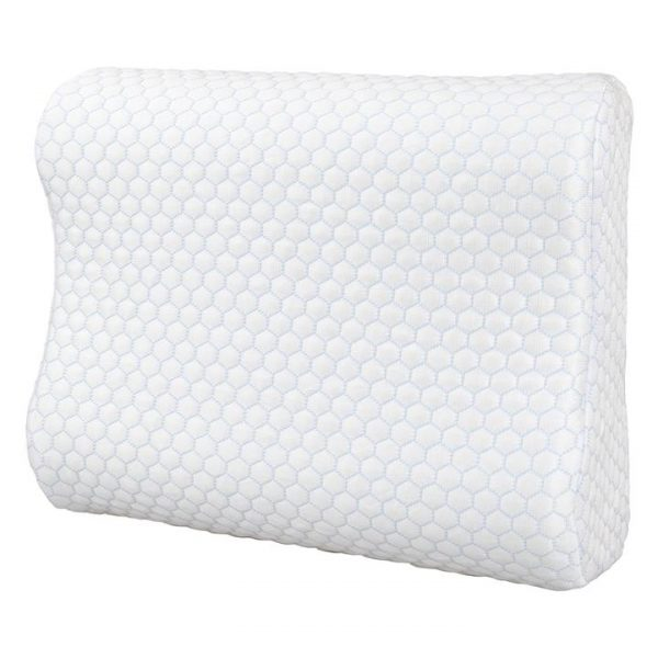 Cooling Memory Foam Pillow, Contoured
