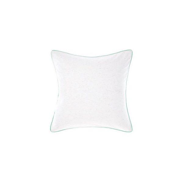 Cora European Pillow Case, White