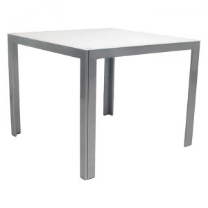 Dali Outdoor Side Table, Graphite