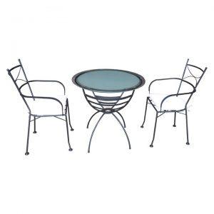 Dianna 3-Piece Outdoor Dining Set