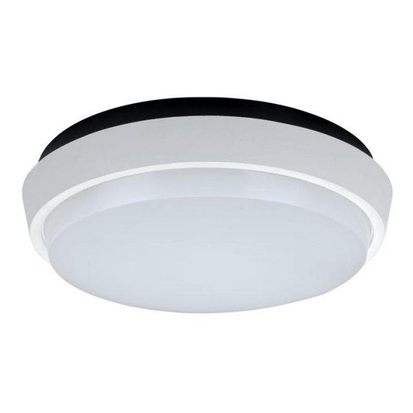 Disc IP54 Indoor / Outdoor LED Oyster Light, 5000K, 17.5cm, White
