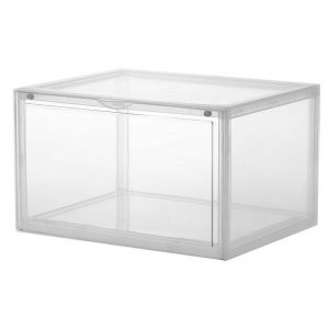 Display Shoe Storage Box, White