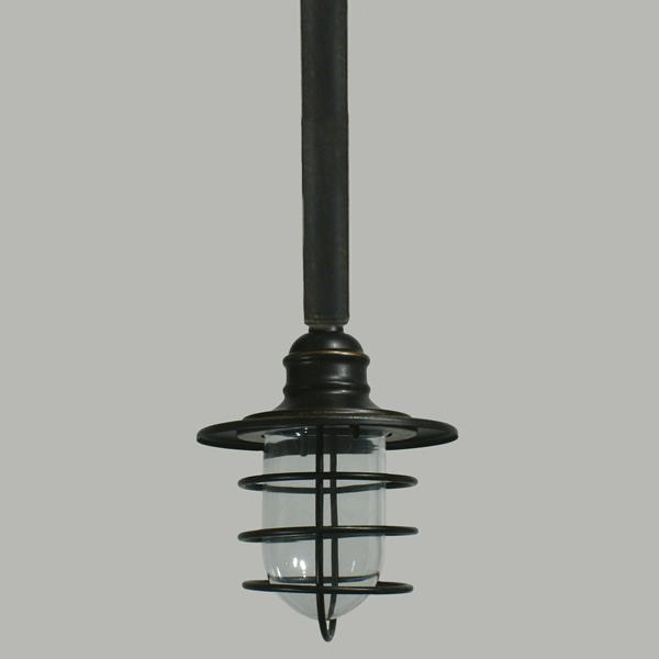 Dockyard Outdoor Rod Pendants Lighting Traditional Industrial Lights