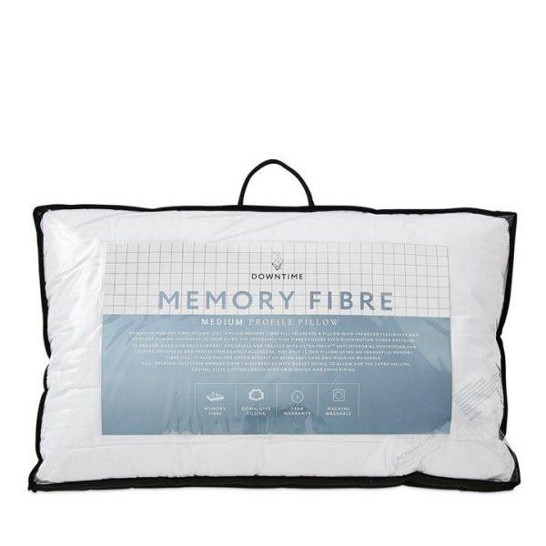Downtime Memory Fibre Pillow 45x70cm Medium By Adairs