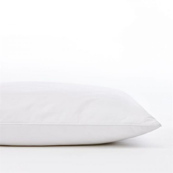 Downtime Slumber Wool Rich Pillow S17 Standard Medium Profile - White By Adairs