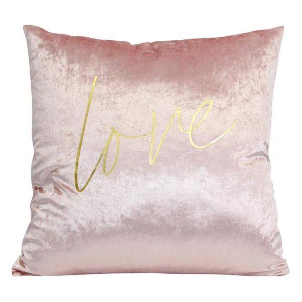 Dusk Pink Love Cushion
