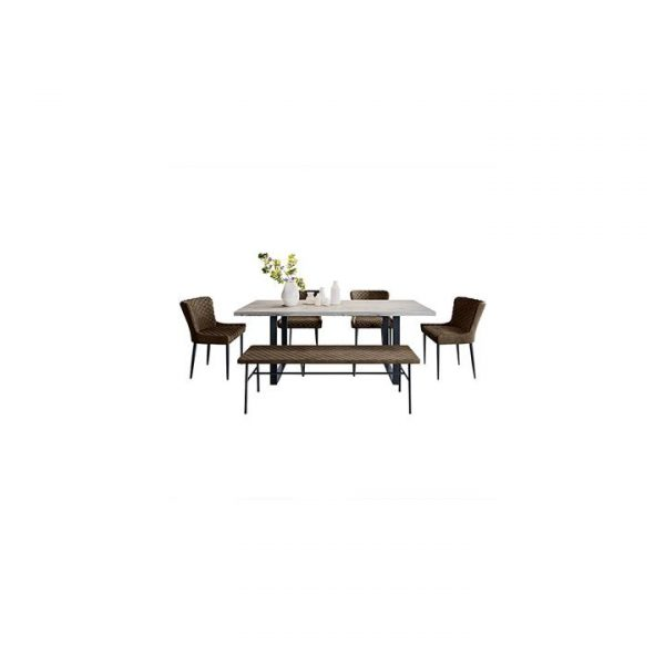 Eleandra Dining Set with Bench