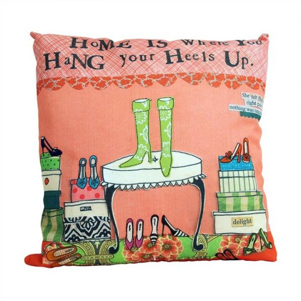Embroidered Linen Blend Leigh Pillow - Home