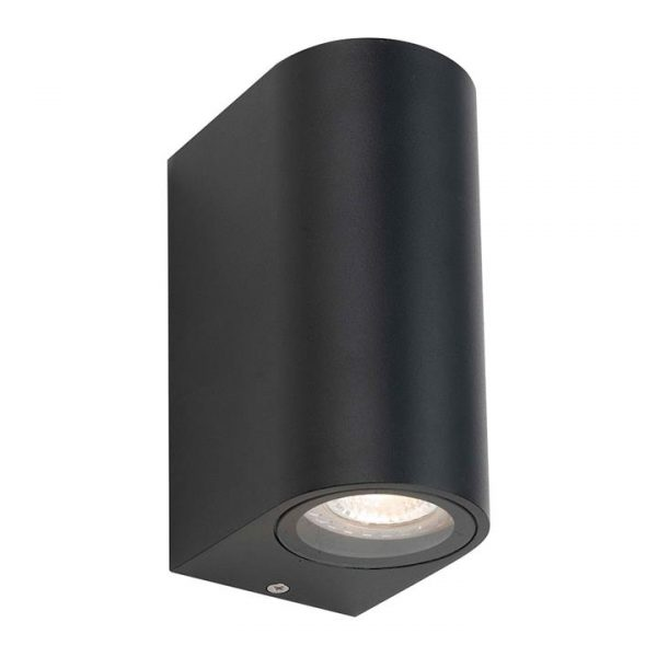 Eos IP54 Outdoor Up / Down Wall Light, Black