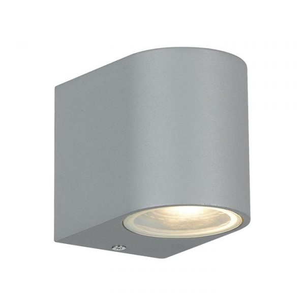 Eos IP54 Outdoor Wall Light, Silver