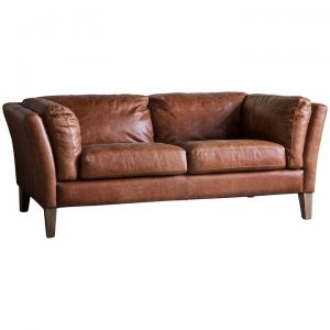 Evie Vintage Leather 2 Seater Sofa