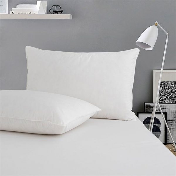 Finola Duck Feather Standard Pillow (Set of 2)