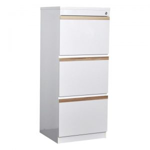 Flora 3 Drawer Filing Cabinet