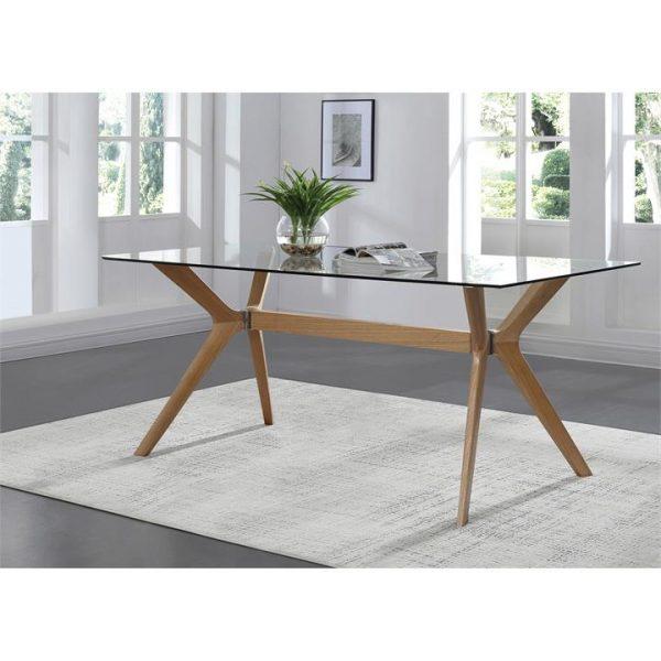 Forza Dining Table, 180cm, Oak