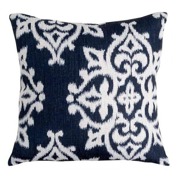 Gallerie Cushion with Feather Insert, Midnight