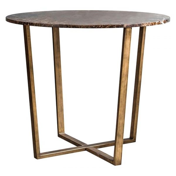 Geraldina Marble Round Dining Table