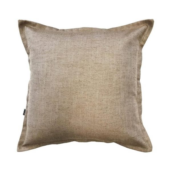 Gerta Linen Scatter Cushion, Caramel