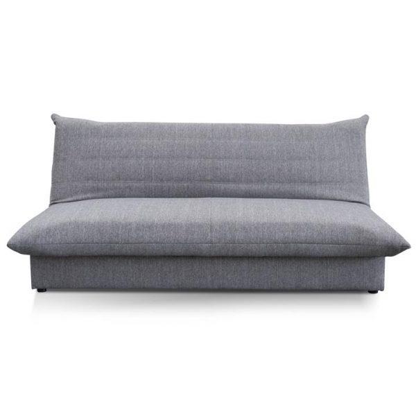 Greenwell Fabric Clic Clac Sofa Bed, 2 Seater, Grey