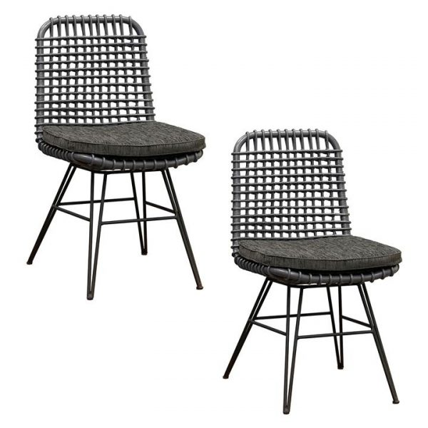 Haisel Rattan Dining Chair (Set of 2)
