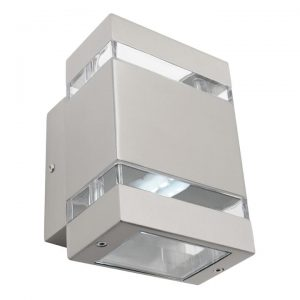 Hedland IP54 Stainless Steel LED Outdoor Wall Light
