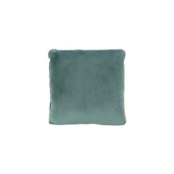 Heleina Velvet Cushion, Gold Trim