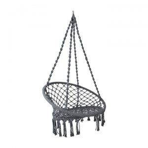 Hephae Indoor/Outdoor Hanging Chair, Grey