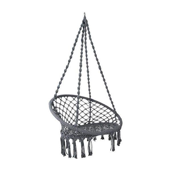 Hephae Indoor/Outdoor Hanging Chair, Grey