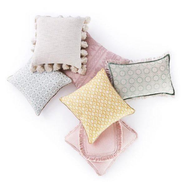Home Republic Aries Cushion 45x45cm Natural By Adairs