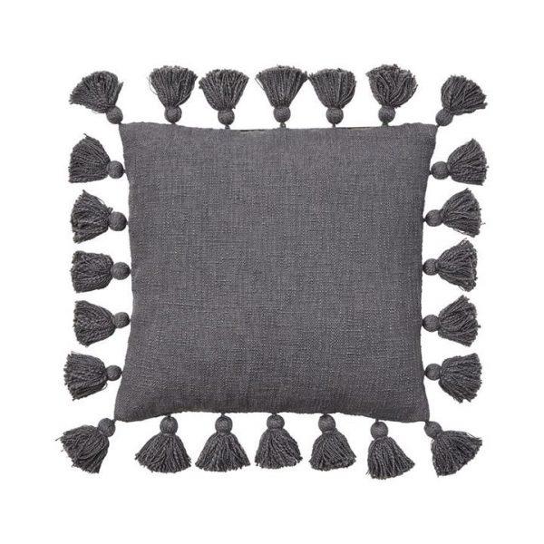 Home Republic Aries Cushion Charcoal By Adairs