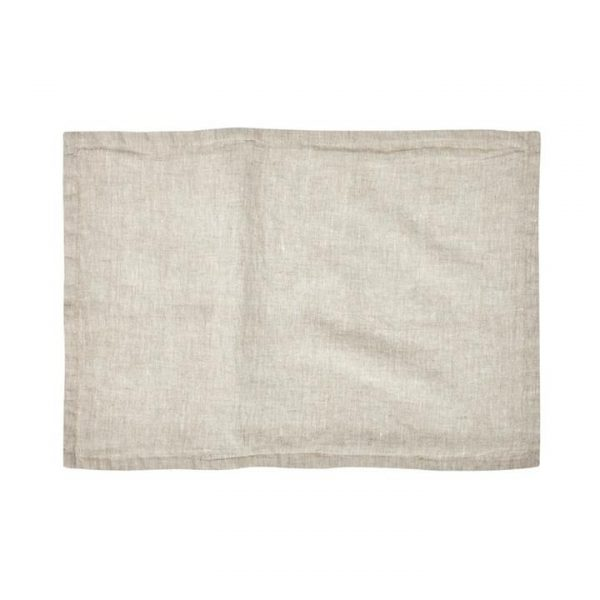 Home Republic Belgian Vintage Washed Linen Cushion Covers Linen 40x60cm By Adairs