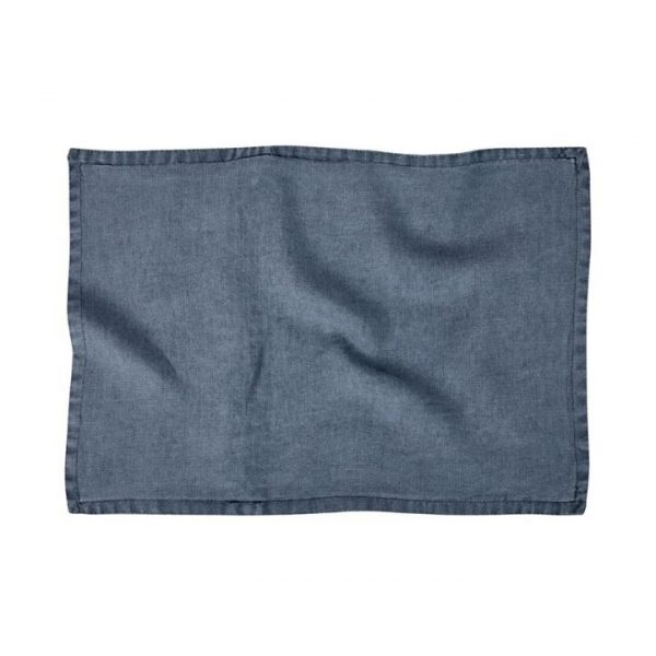 Home Republic Belgian Vintage Washed Linen Cushion Covers Slate 40x60cm By Adairs