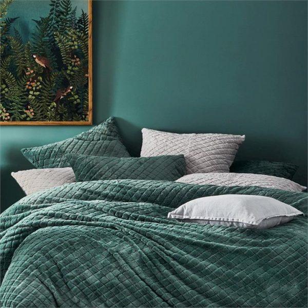 Home Republic Belgian Vintage Washed Linen Cushion Seal Grey 50x50cm - Sealgrey By Adairs