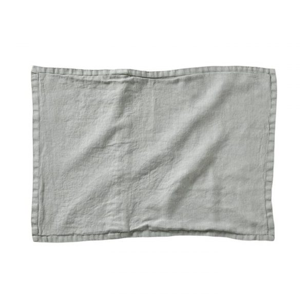 Home Republic *Covers only* Belgian Vintage Washed Linen Cushion Covers Mineral Green - Mineralgre By Adairs