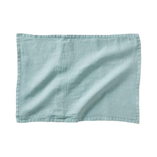Home Republic *Covers only* Belgian Vintage Washed Linen Cushion Covers Seabreeze By Adairs