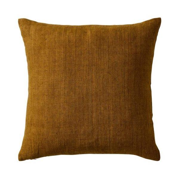 Home Republic Malmo Linen Cushion 50x50cm Chartreuse By Adairs