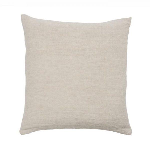 Home Republic Malmo Linen Cushion 50x50cm Natural By Adairs