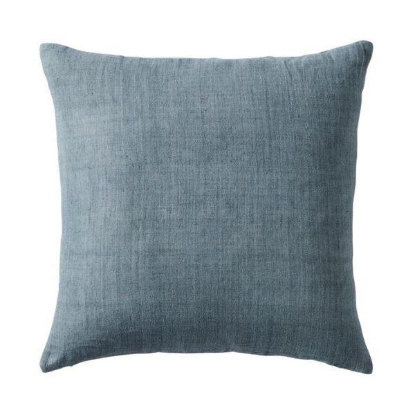 Home Republic Malmo Linen Cushion Dusty Blue 50x50cm - Dustyblue By Adairs
