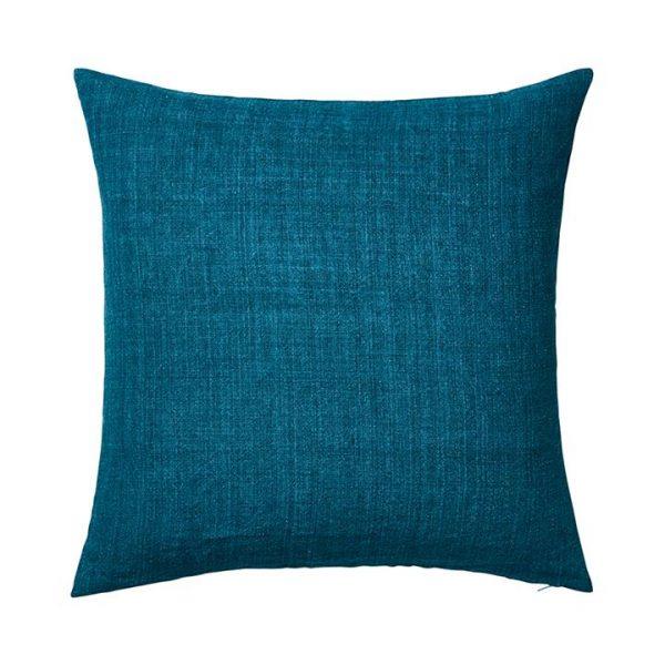 Home Republic Malmo Linen Cushion Emerald By Adairs