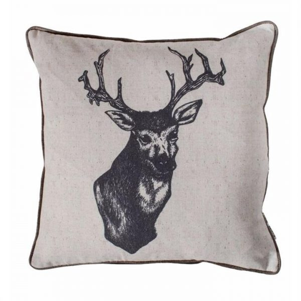Ink Stag Cushion