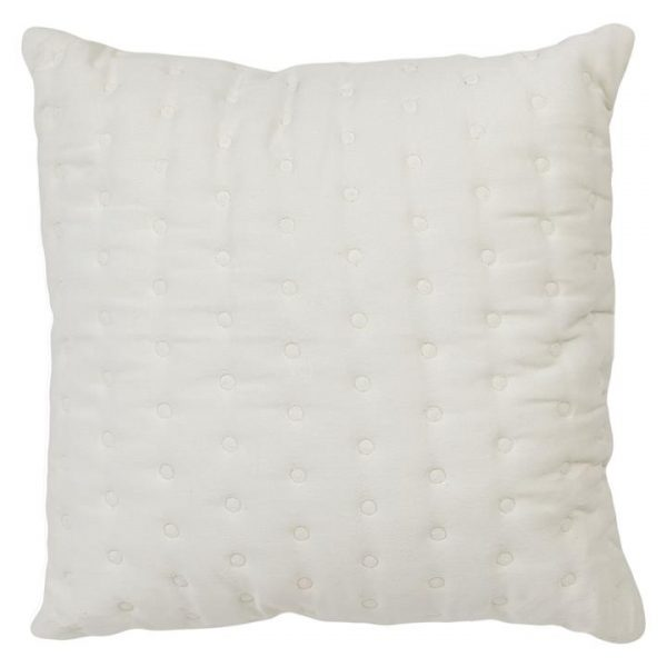 Ivy Quilted Velvet Cushion